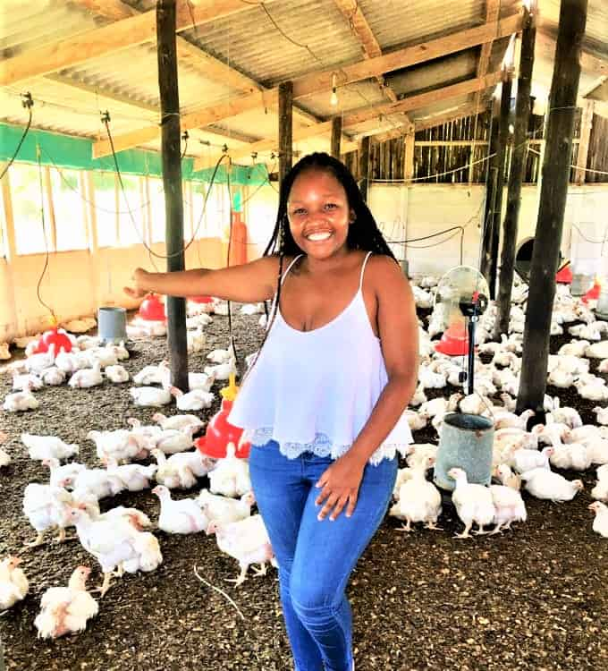 KwaZulu-Natal agripreneur Thuli Mageba comes from a family of subsistence farmers. Photo: Supplied/Food For Mzansi