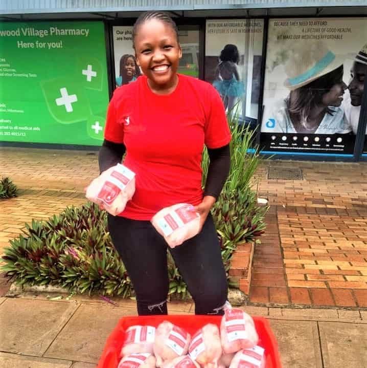 Thuli Mageba has used her retrenchment from a cushy job to start her own chicken brand, Misuzulu Poultry. Photo: Supplied/Food For Mzansi