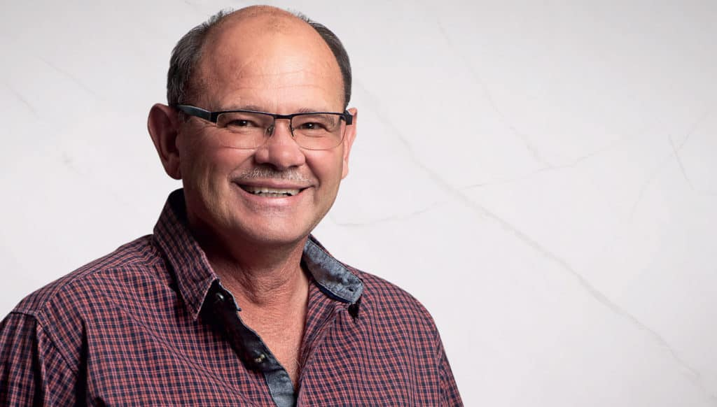 Piet Potgieter, manager: developing agriculture for the VKB Group, has played an instrumental role in facilitating the birth of Maluti Farming PALS in the eastern Free State. Photo: Food For Mzansi