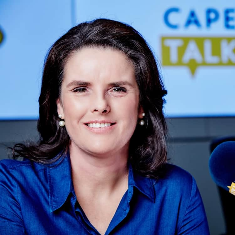Pippa Hudson is a well-loved radio presenter at Cape Talk, a commercial AM radio station. Photo: Supplied
