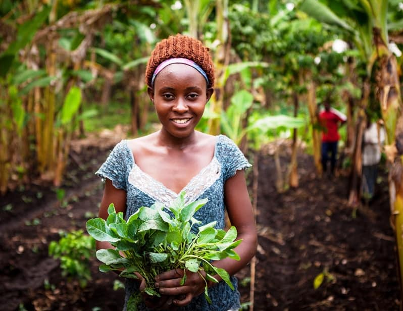 "Young farmers in Africa are invited ""to put adaptation on steroids"" through a new funding opportunity by the African Development Bank. Photo: Supplied/USAID"