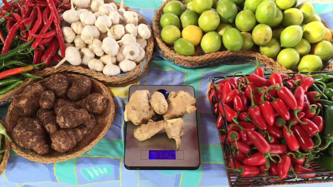 surge in ginger prices