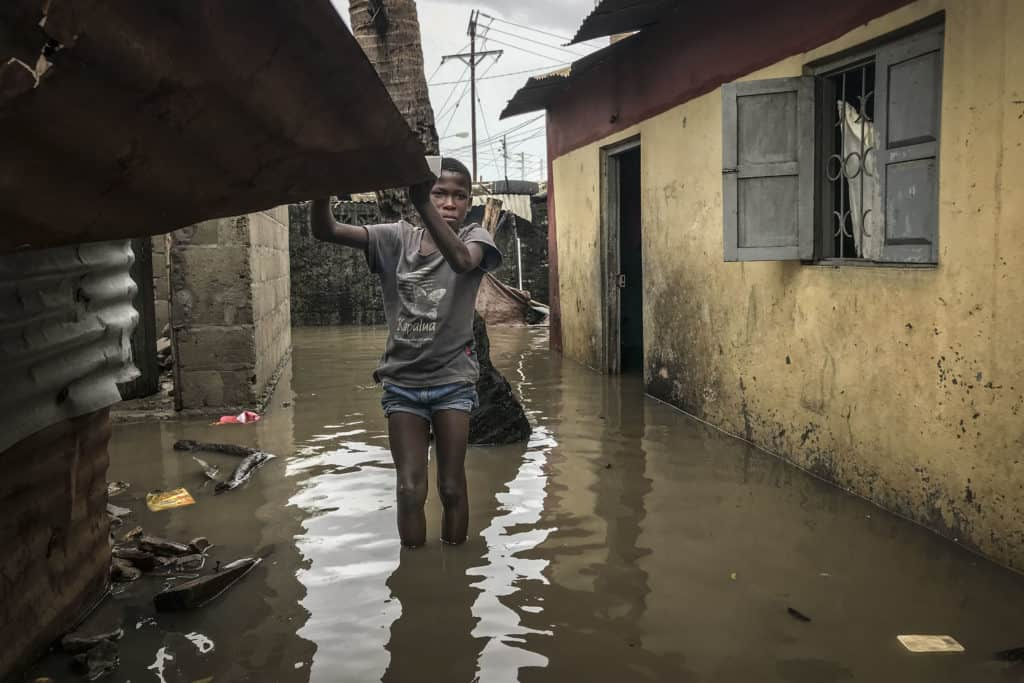 This week, the Eloise weather system affected at least 250 000 people in five different countries Photo: André Catueira/EPA