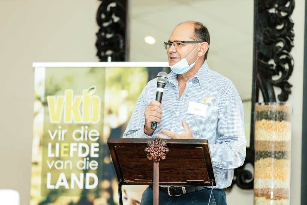"Piet Potgieter, manager for developing agriculture at VKB, played an instrumental role in the establishment of the Maluti Farming PALS initiative. Potgieter is also the co-host of the ""Vir die liefde van die land"" farmers' show on DStv. Land reform initiative"