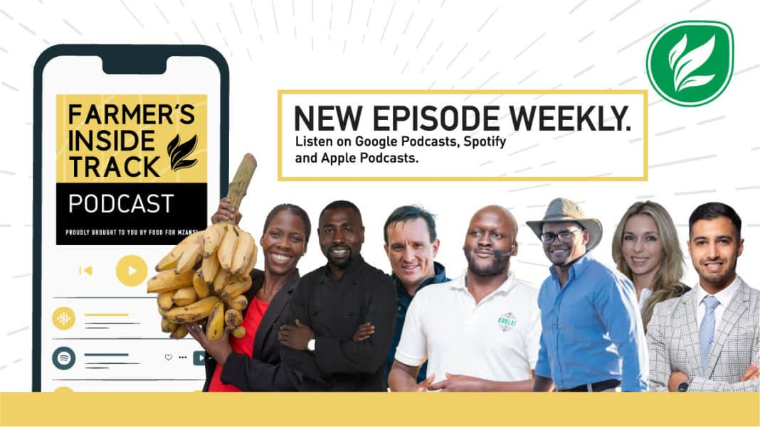 "The Farmer's Inside Track hosts are joined by Emma Naluyima, chef Lufuno ""Funi"" Sinthumule, Louw Van Reenen, Karidas Tshintsholo, Byron Booysen, Bianca Viljoen, and Uzair Essack."