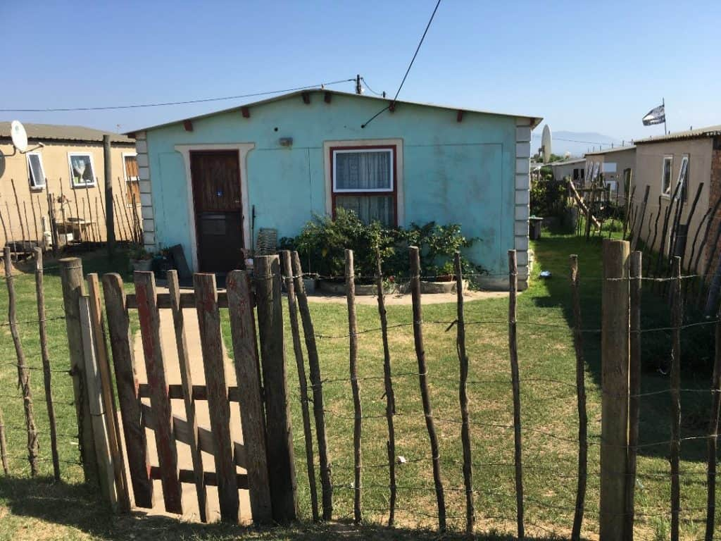 For many farmworkers RDP houses created the possibility of a more independent life. Photo: Supplied/Food For Mzansi