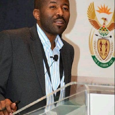Albi Modise, spokesperson for the department of environment, forestry and fisheries. Photo: Twitter