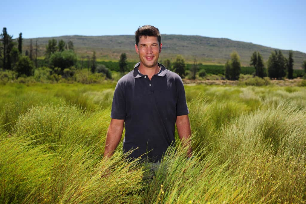 Rooibos farmer Jaques Burger on his farm Elandsfontein in Citrusdal. Photo: Henk Kruger/African News Agency (ANA)