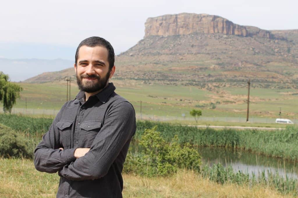 Dr João Vidal is a postdoctoral research fellow in the Afromontane research unit and the department of geography at the University of the Free State. Photo: Supplied/Food For Mzansi