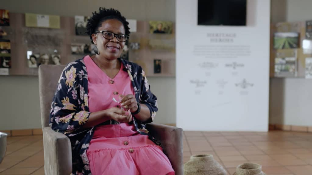 South Africa's first black female winemaker, Ntsiki Biyela, is the winemaker and director at Aslina Wines. Photo: Food For Mzansi