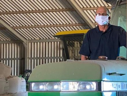 Ivan Cloete, a Western Cape pig farmer who now has to vacate his state farm in Darling in the West Coast. Photo: Supplied/Food For Mzansi