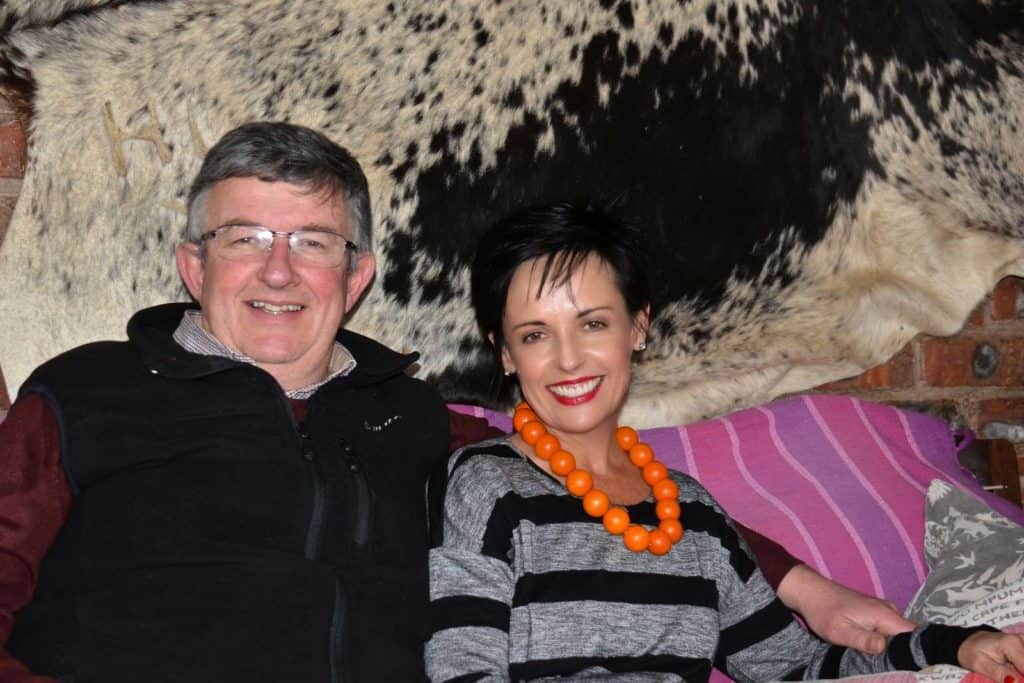 Queenstown farmer Dr Pieter Willem Prinsloo and his wife, Marietha, married just six months after meeting each other at a blind date. Photo: Facebook