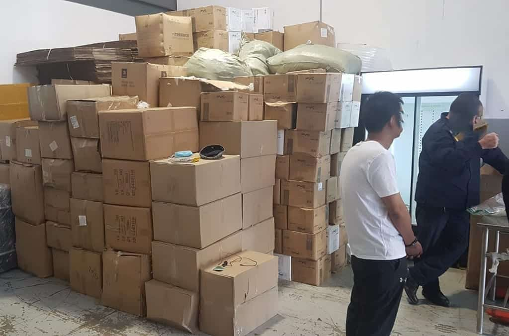 SAPS arrested three Chinese nationals and a Zambian in connection with fake Covid-19 vaccines. Photo: Supplied/Interpol