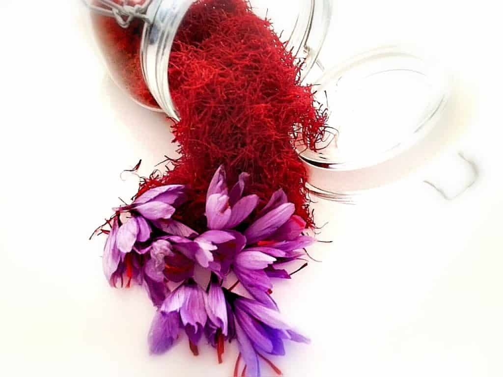 Saffron is a powerful spice high in antioxidants. Its threads, made of crimson-coloured stigmas and styles, are harvested. Photo: Supplied/Food For Mzansi