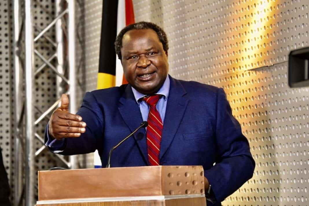Tobacco: Finance minister Tito Mboweni will deliver his budget speech at 14:00 today. Photo: Supplied/GCIS