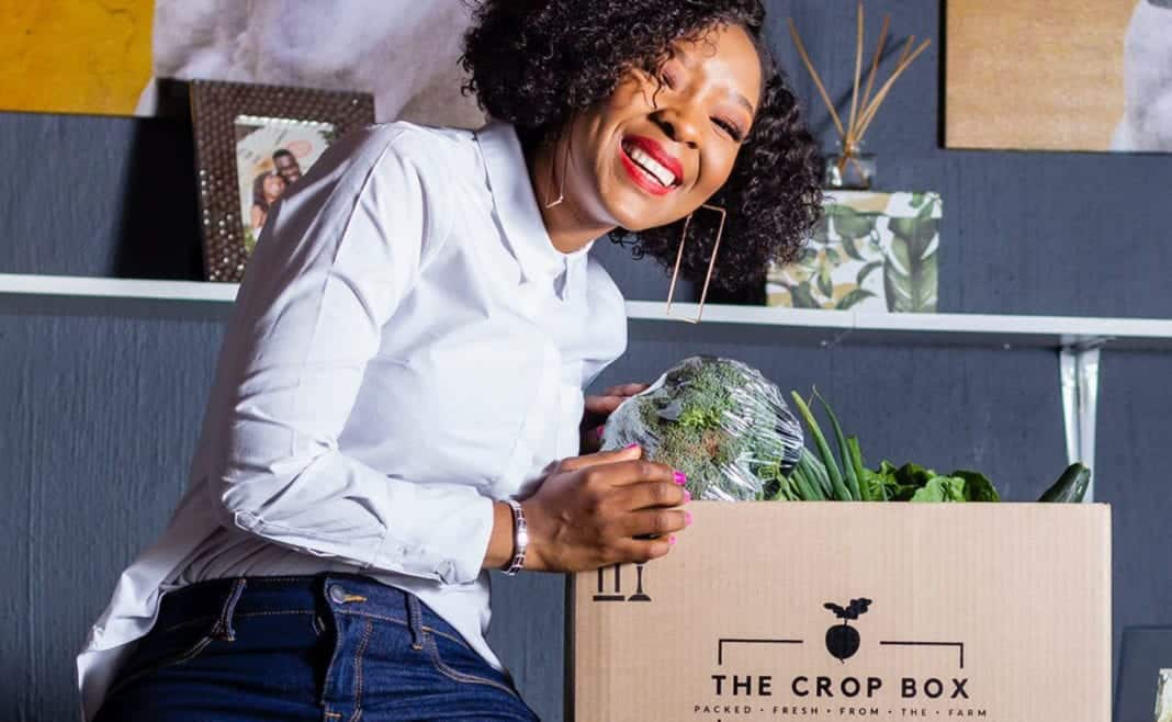 Phumzile Chifunyise, founder of female-owned fresh food delivery service, Crop Box. Photo: Supplied/Food For Mzansi