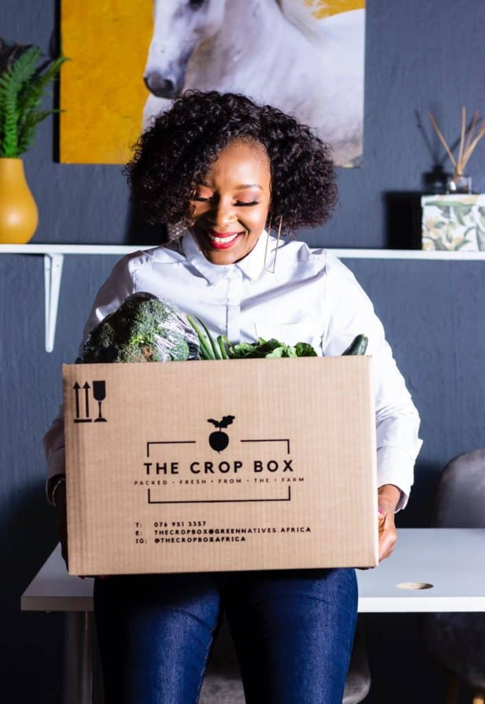 Phumzile Chifunyise's newly launched fresh food delivery service received an unanticipated boost from the Covid-19 lockdowns. Photo: Supplied/Food For Mzansi