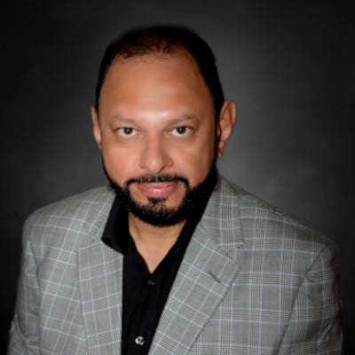 Yusuf Abramjee, eNCA's Crime Watch anchor and founder of Tax Justice South Africa. Photo: Supplied/Food For Mzansi