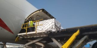 South Africa's first million doses of the AstraZeneca vaccine arrived earlier today at OR Tambo International Airport in Kempton Park. It has been shipped from Mumbai ahead of the first vaccinations for healthcare professionals. Photo: Twitter