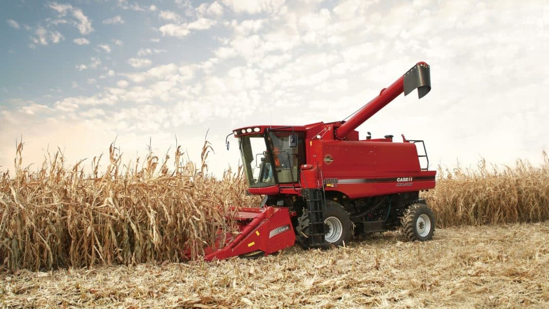 Last month, there were five combine harvesters sold in South Africa – the same as in January 2020. Photo: Supplied/CASE IH