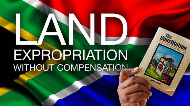 The new Expropriation Bill will allow the state to target and expropriate any property without compensation, warns Free State Agriculture. Photo: AfTruth