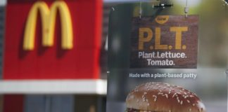 Buckle up, Mzansi. The McPlant might be coming to South Africa soon. If there's a big enough demand for it, McDonald's might offer the McPlant alternative to its burgers, chicken nuggets and fish options. Photo: Supplied/McDonald's