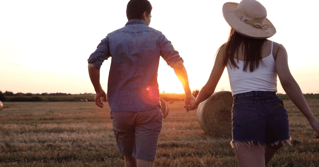 Everyone knows that farmers work 365 days a year. They don't get special breaks for Valentine's Day, and have to make the best of every moment together. Photo: Supplied/Food For Mzansi