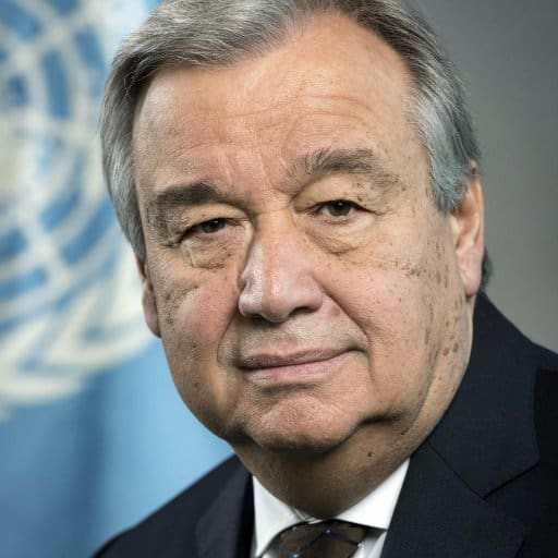 Population growth:United Nations secretary-general António Guterres. Photo: Supplied/UN