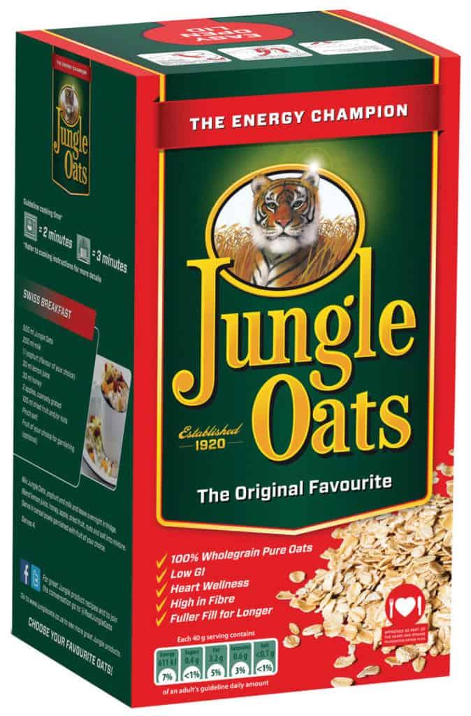 Jungle Oats is Mzansi's original favourite breakfast having been around since 1920. Photo: Supplied/Food For Mzansi