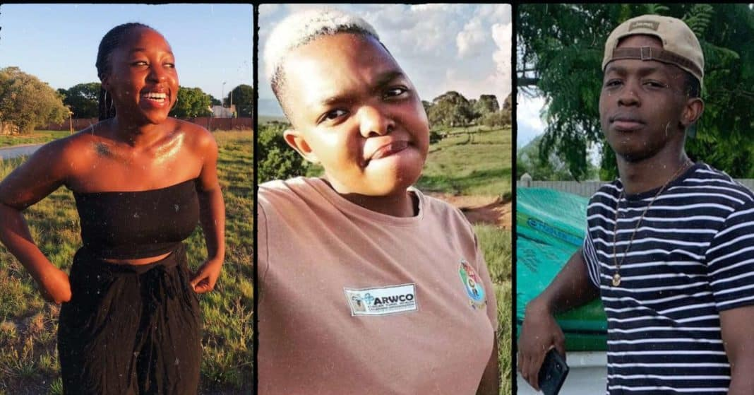 With the academic year now in full swing, a new generation of future agriculturists have enrolled at universities and agricultural colleges across the country. This includes (from the left) Taboka Ndhlovu (18), Fanelesbonge Sithole (20) and Tumelo Sibiya (21). Photos: Supplied/Food For Mzansi