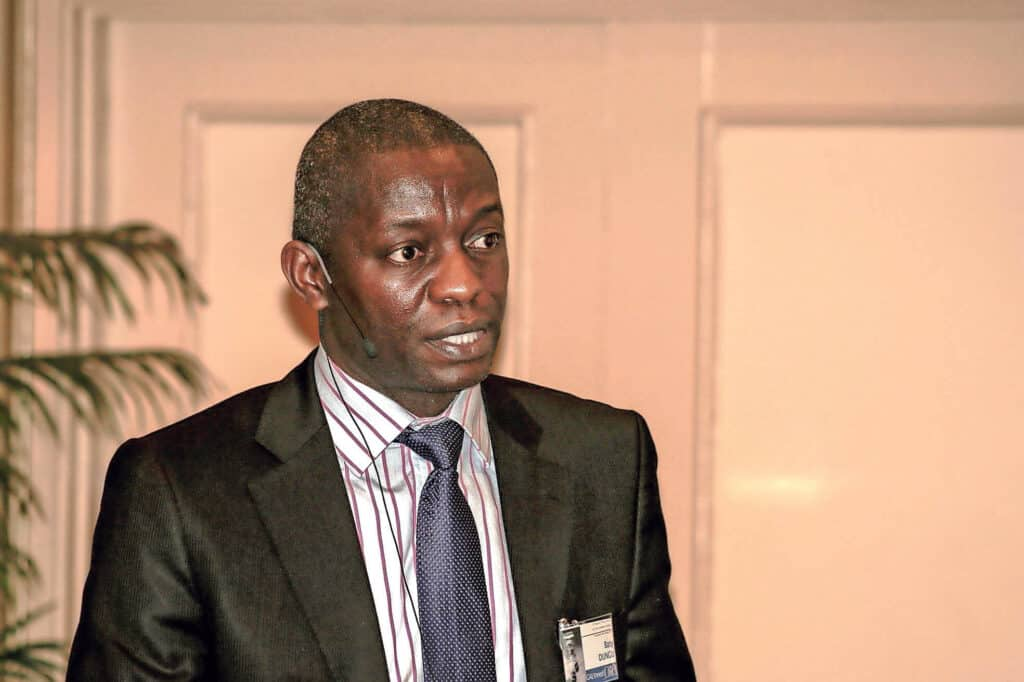 Snotsiekte: Chief executive at Onderstepoort Biological Products, Dr Baptiste Dungu. Photo: Supplied/Food For Mzansi