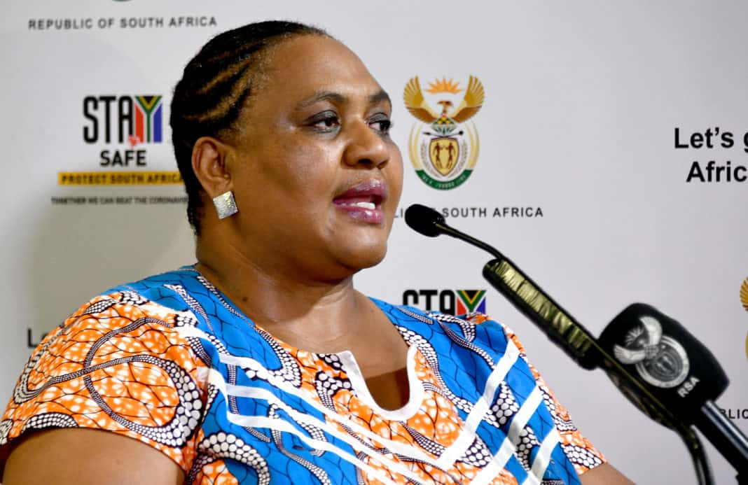 Master plan: The minister of agriculture, land reform and rural development, Thoko Didiza. Photo: GCIS/Flickr