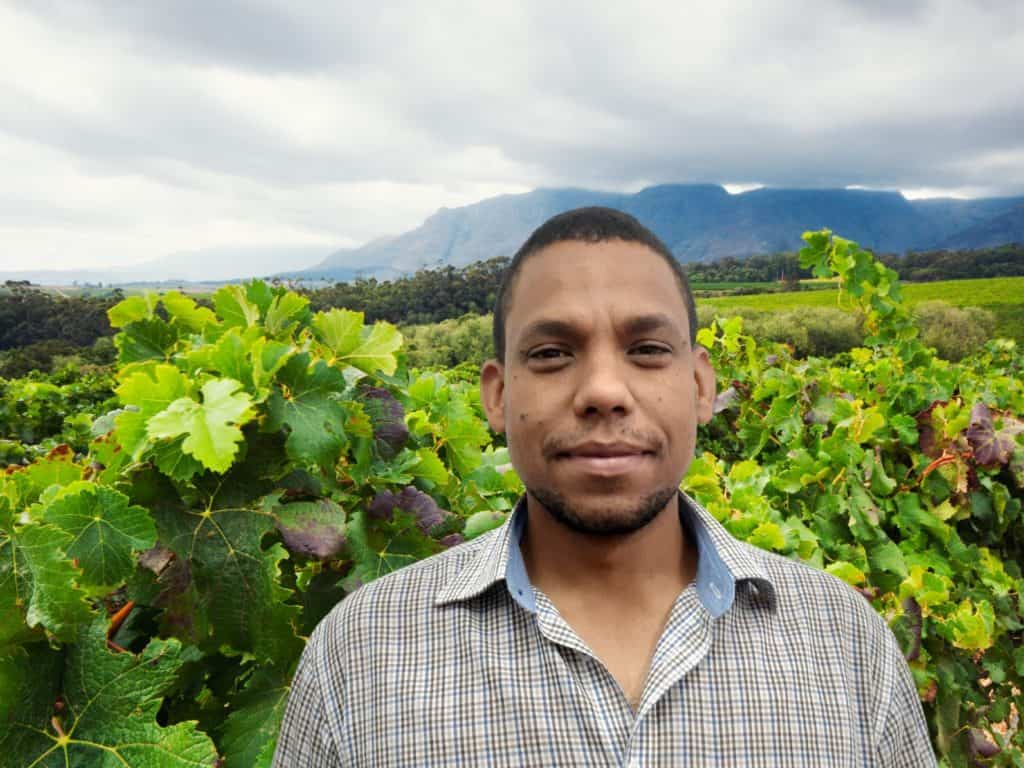 SIYABONGA Day: Brenton Maarman, a lecturer in microbiology and viticulture at Elsenburg Agricultural Training Institute. Photo: Supplied/Food For Mzansi