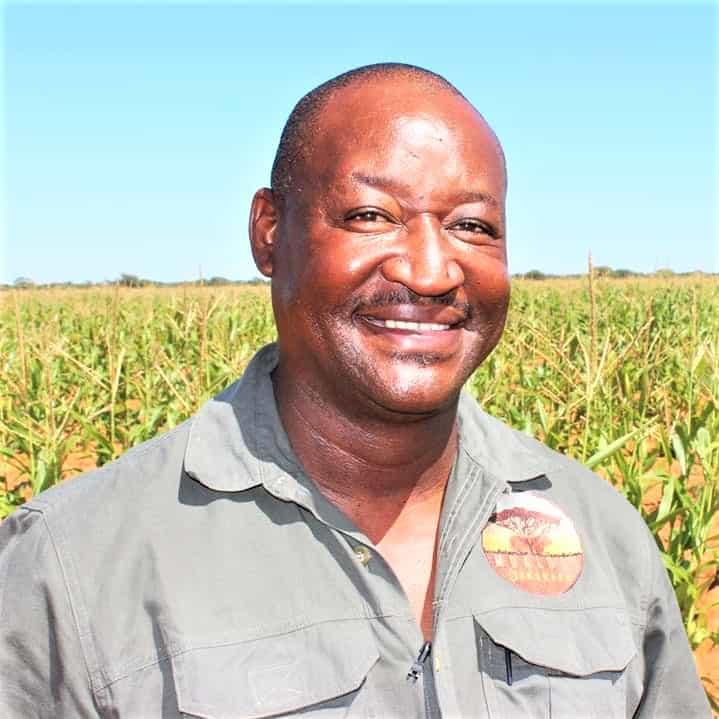 Successful commercial livestock farmer and mentor Duncan Serapelwane