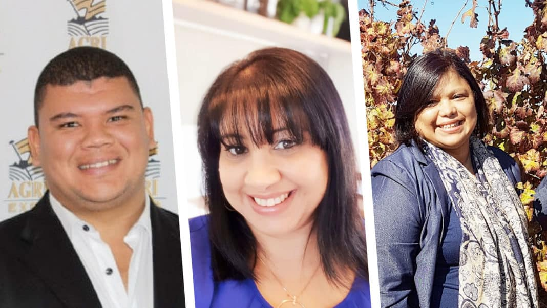 All roads lead to Wellington in the Western Cape for SIYABONGA Day on Wednesday, 31 March. On the speaker line-up is Breyton Milford from Agri-Expo, Wendy Petersen from the SA Wine Industry Transformation Unit and Denise Stubbs from Thokozani Wines. Photos: Supplied/Food For Mzansi