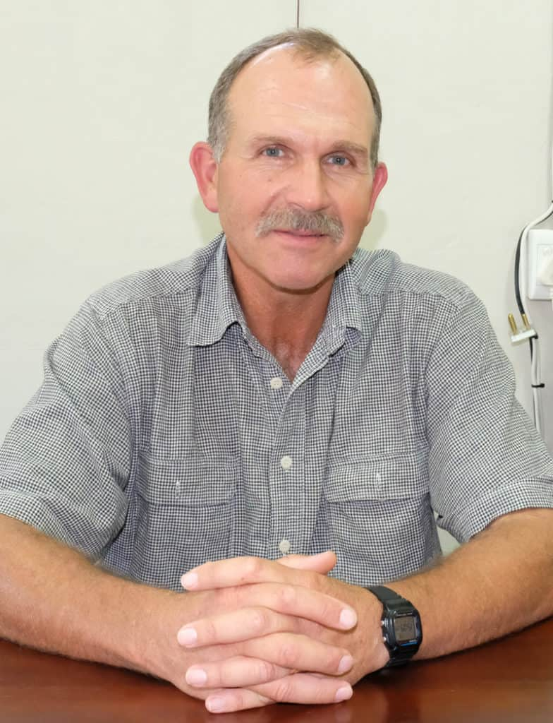 Ostrich farmer Joey Potgieter is the chairperson of the Ostrich Producers Association. Photo: Supplied/Food For Mzansi