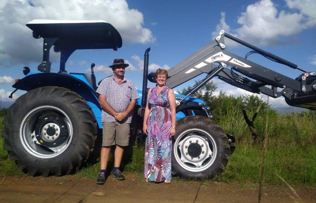 As the owner and manager of Lydenburg Landini, Santie Snyman is a woman in the heart of a very male-dominated part of the agriculture sector.