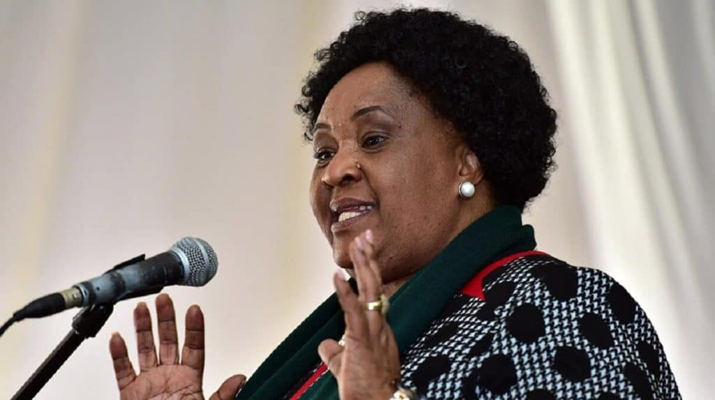 Free State State premier Sisi Ntombela. Photo: Supplied/Student Room
