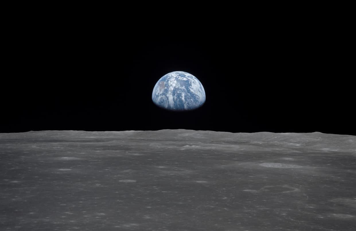 European scientists are planning to farm fish on the moon in the near future.
