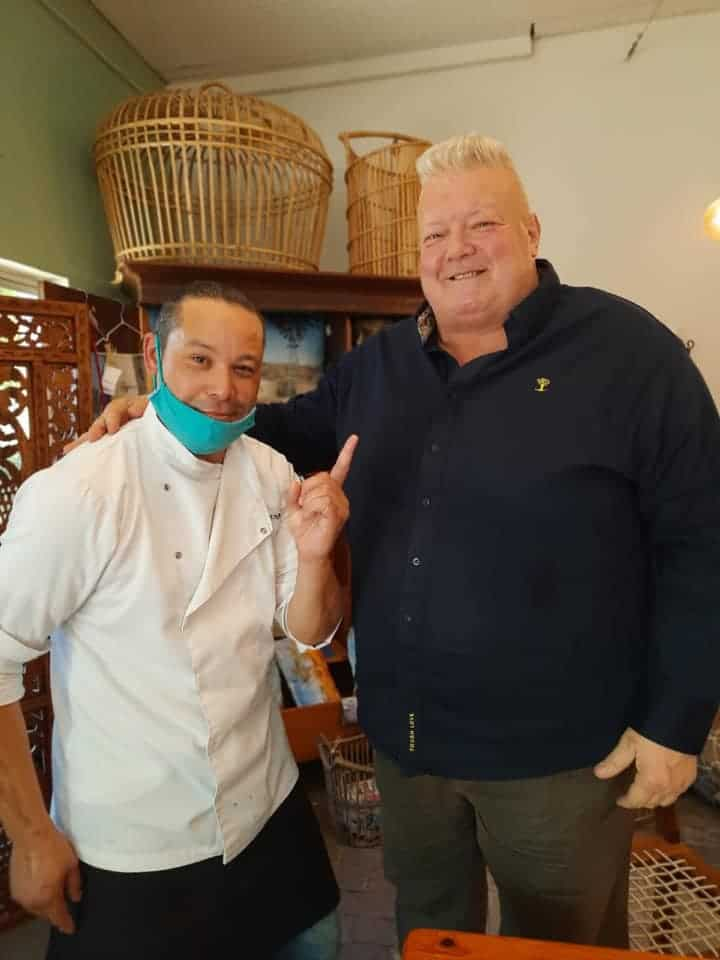 The Cape Winelands sushi master Henrico Samspon has cooked for many clients, including Kobus Wiese, a former Springbok rugby player, businessman and television host. Photo: Facebook