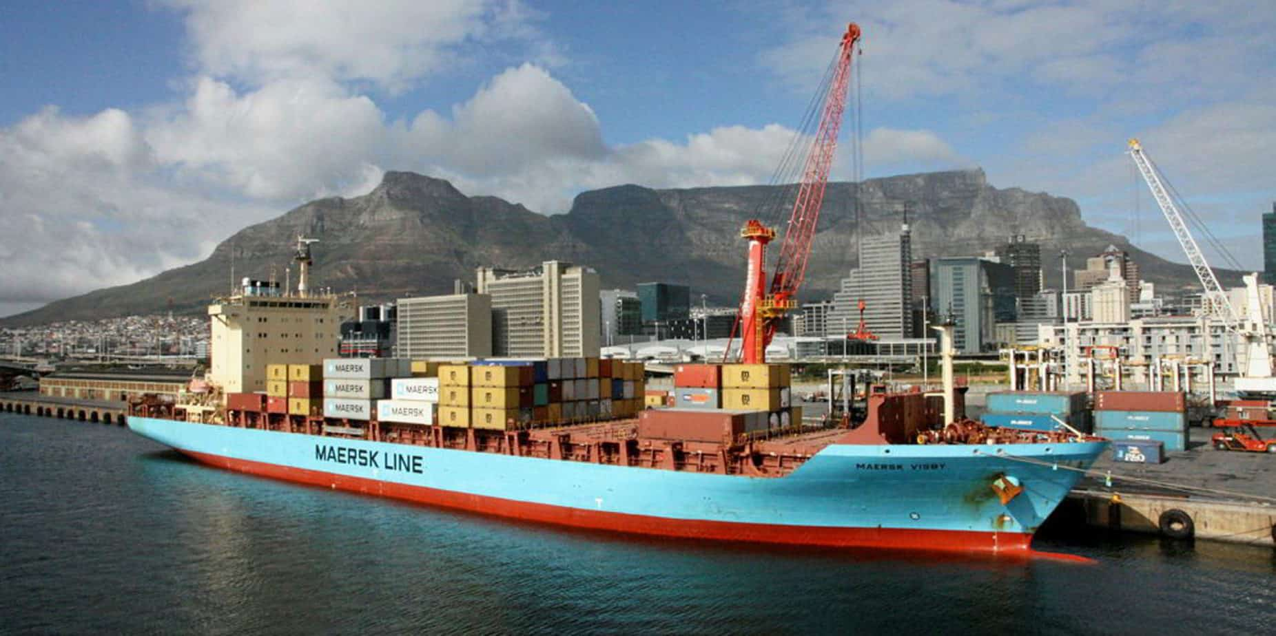 The Cape Town port is one of the busiest ports in South Africa. Photo: Supplied/Jonathan Boonzaaier