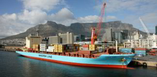 The Cape Town port is one of the busiest ports in South Africa, handling the largest amount of fresh fruit and second only to Durban as a container port. Photo: Supplied/Jonathan Boonzaaier