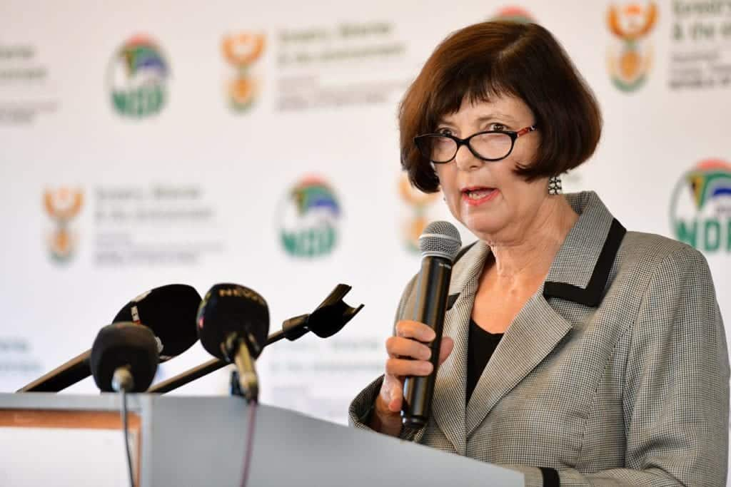 National biodiversity policy: Barbara Creecy, the minister of forestry, fisheries and environment. Photo: Supplied/Food For Mzansi