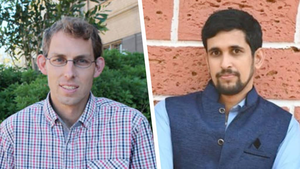Cycads: Sjirk Gerts (pictured left) is an Associate professor at Cape Peninsula University of Technology and Kanle Satishchandra Nitin (pictured right) is a Post Doctoral Researcher with the Faculty of Applied Science at Cape Peninsula University of Technology. Photo: Supplied/Food for Mzansi