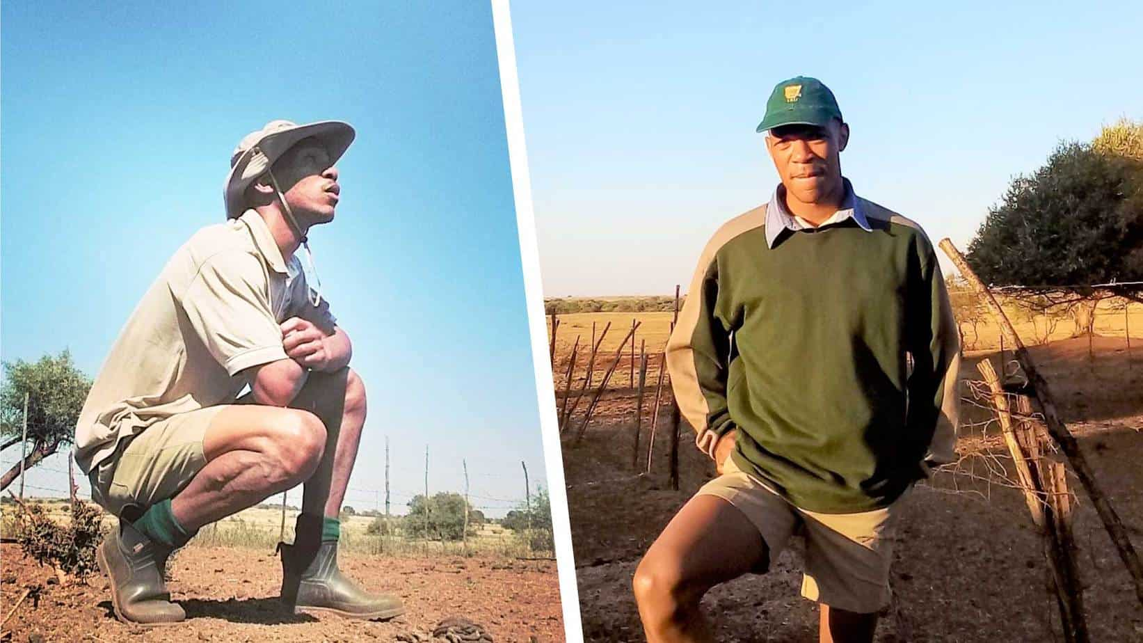 Gustav Thekiso took the plunge and grew his father's farming enterprise from subsistence to a larger scale. They now operate three farms in different parts of the North West province. Photo: Supplied/Food For Mzansi