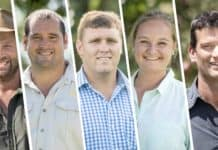 And the finalists in the Free State Young Farmer of the Year competition are Louis de Jager, Nants Yzel, Jimmy Roberts, Annalea van Niekerk, and Douglas Osler. Photos: Supplied/Food For Mzansi