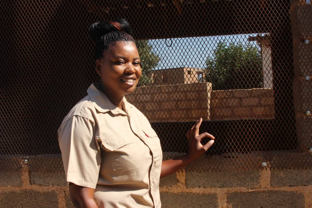 Khethiwe Maseko is a poultry farmer based in Bronkhorstspruit, east of Pretoria. From a young age, she aspired to be a businesswoman and eventually found her feet in agriculture. Photo: In 2019, Khethiwe Maseko won R30 000 from the department of agriculture and rural development to grow her poultry business. Photo: Magnificent Mndebele/Food For Mzansi/