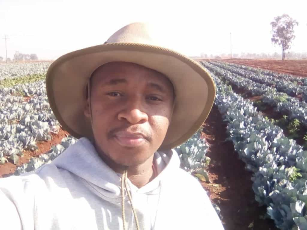Eric Mauwane, managing director of Oneo Farms in Tarlton, Gauteng. Photo: Supplied/ Food For Mzansi