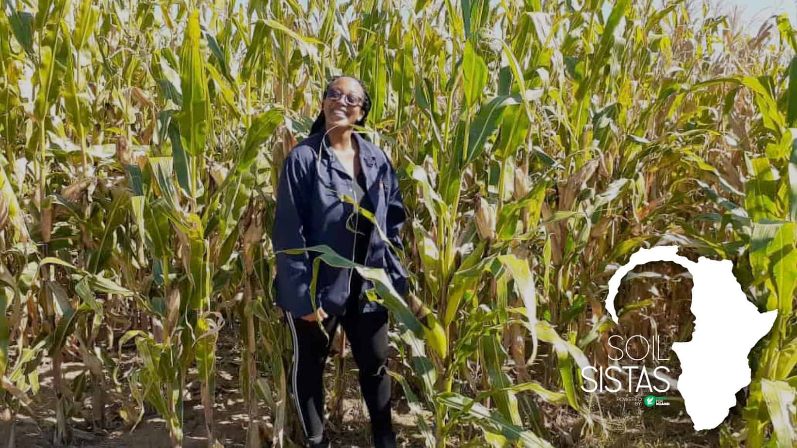 Keabetswe Mokgatla farms with maize and cattle in Kalbasfontein in Gauteng. Photo: Supplied/Food For Mzansi