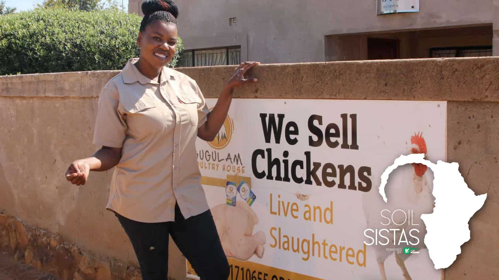 This week on #SoilSistas we meet Khetiwe Maseko, a farmer who started out working as a domestic worker. She poured blood, sweat and tears into her agribusiness. Today, she's on the way up thanks to Corteva Agriscience and GIBS. Photo: Khethiwe Maseko is a poultry farmer based in Bronkhorstspruit, east of Pretoria. From a young age, she aspired to be a businesswoman and eventually found her feet in agriculture. Photo: In 2019, Khethiwe Maseko won R30 000 from the department of agriculture and rural development to grow her poultry business. Photo: Magnificent Mndebele/Food For Mzansi